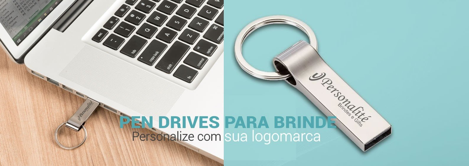 Pen Drives Metálicos