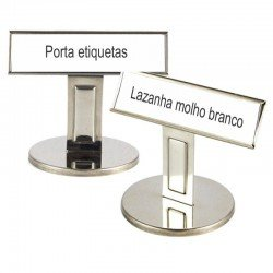 Display Inox para Etiquetas Promocional