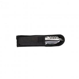 Canivete metal 9 funções com detalhes emborrachados Personalizado