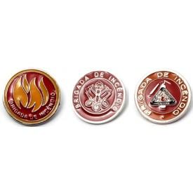 Botons de Segurança Brigada de Incêndio