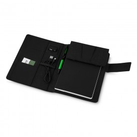 Caderno com Power Bank Personalizado