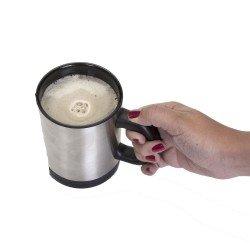 Caneca Mixer Personalizada de 400ml em Inox