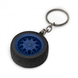 Chaveiro plástico em formato de pneu Personalizado