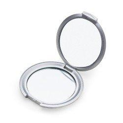 Espelho Redondo Duplo sem Aumento Personalizado