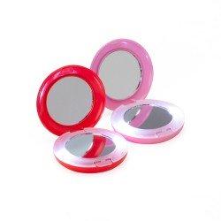 Espelho Redondo Duplo com Aumento e Luz Personalizado