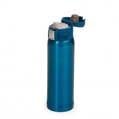 Garrafa  térmica em metal   de 450ml personalizada para brinde