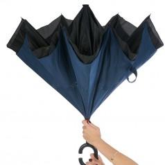 Guarda chuva invertido com forro