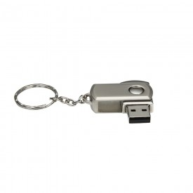 Mini Pen Drive Personalizado de 4GB Giratório