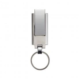 Pen Drive Chaveiro Metal 4GB/8GB com Logotipo Impresso