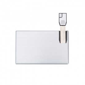 Pen Card 4GB em Alumínio Personalizado