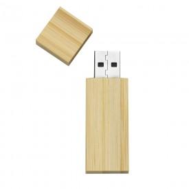 Pen Drive 4GB em Bambu com Logo