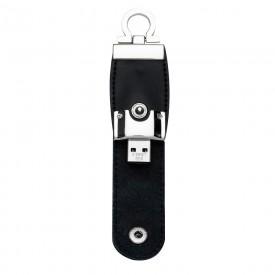 Pen Drive de Couro Personalizado de 8GB