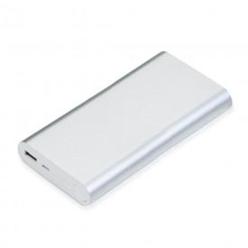 Power Bank Metálico com Indicador Led de Bateria Personalizado