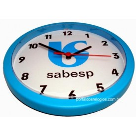 Relógio de Parede personalizado Redondo 24 cm
