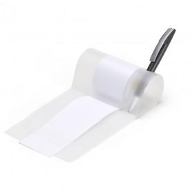 Rolo de recados plástico com suporte para caneta