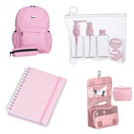 Brindes femininos rosa personalizados - Outubro Rosa