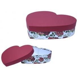 Caixa Coração Grande Personalizada para Brinde