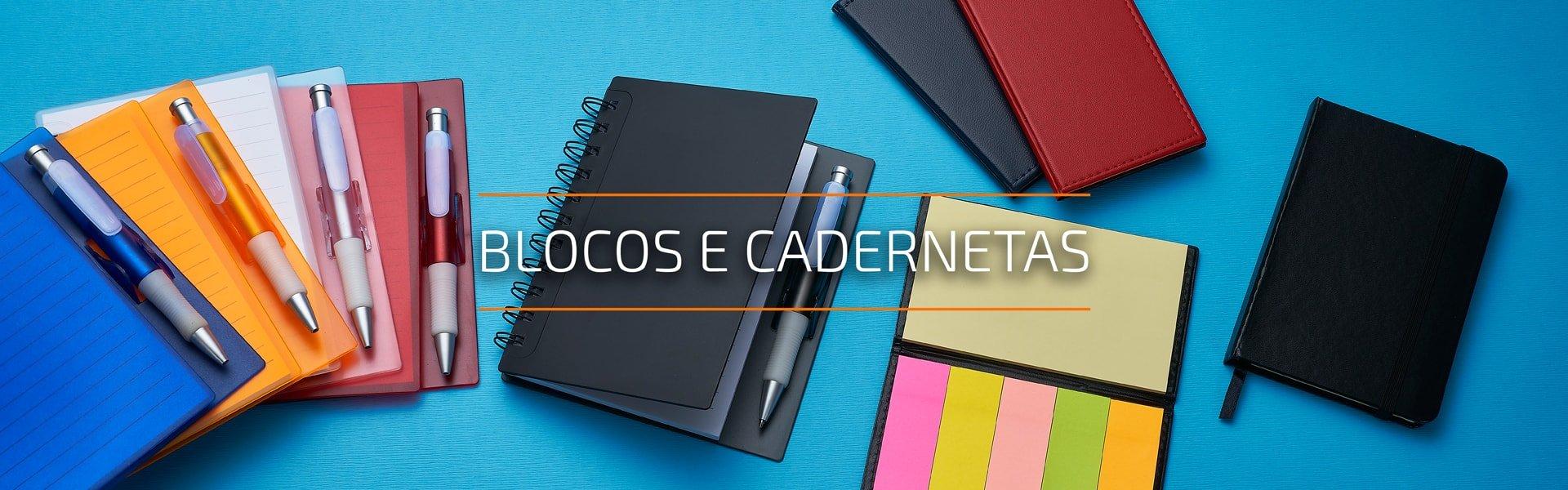 Blocos e Cadernetas Personalizados